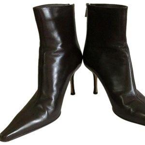 Jimmy Choo Brown Womens Heel Boots Size 41.5